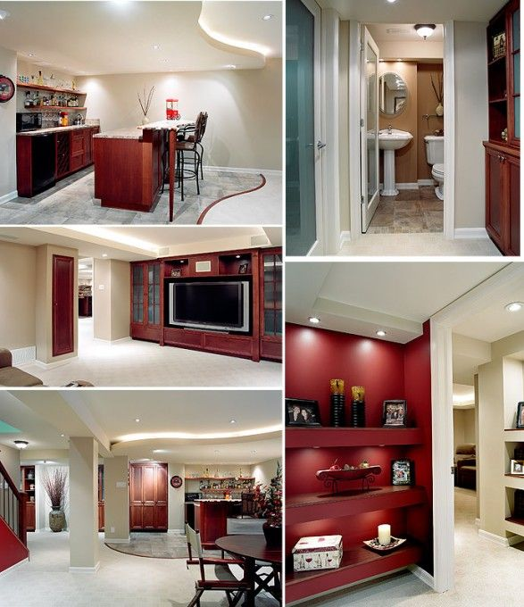 Basement Bathroom Idea (upper Right Corner)   If No Vanity Storage Is  Necessary, Kick Wall Forward To Create More Square Footage Behind The  Bathroom   Decor ...