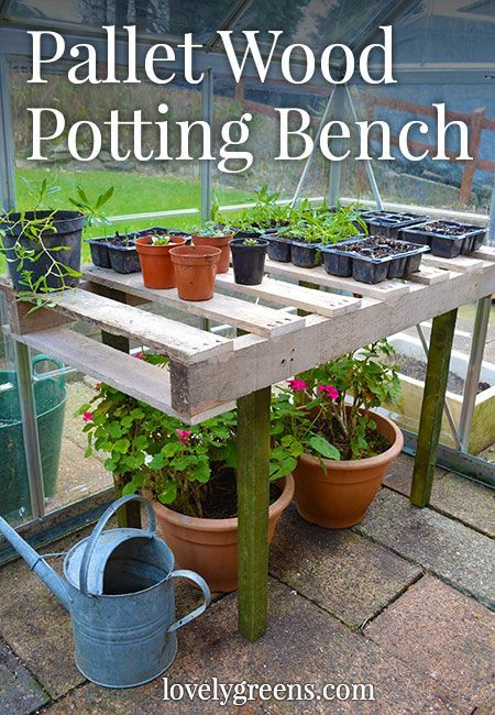 instructions for pallet bench