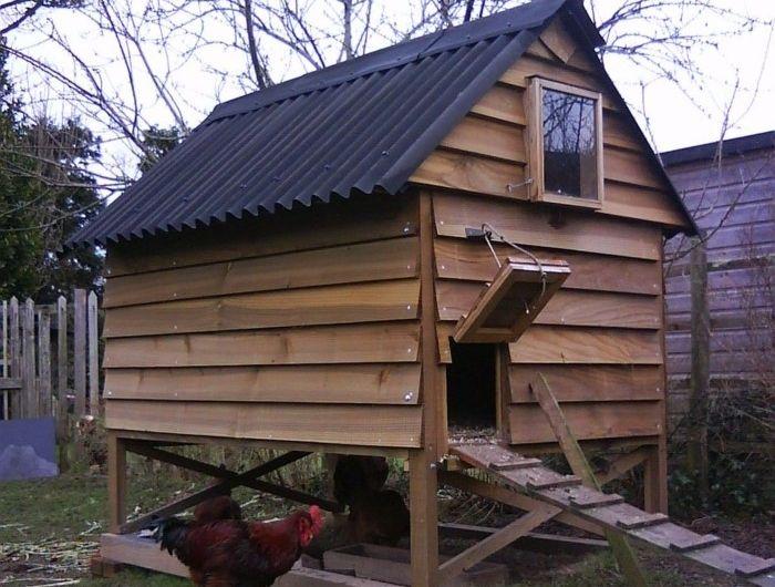 68 Vorschläge, wie Sie einen Hühnerstall selber bauen können