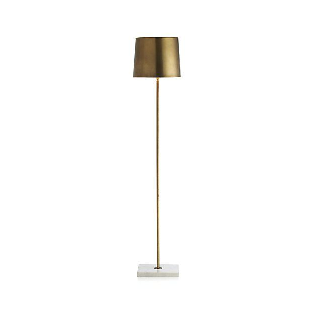 Set the mood with a floor lamp from Crate and Barrel. Browse a variety of styles including swing arm, tripod, adjustable, and more. Order floor lamps online