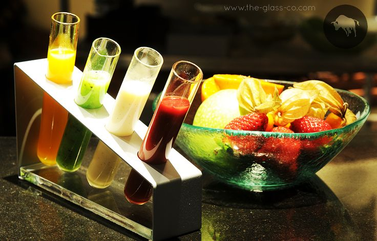 #Jam #Presentation Trendy sauces or jams presentation inspired by science labs and designed by www.the-glass-co.com ! Code: RP-08-14 Ask us at info@myglassstudio.com