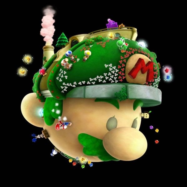Starship Mario - Super Mario Galaxy 2