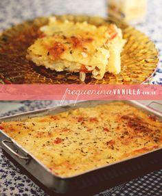 A melhor torta salgada de queijo, palmito e azeitona da cidade, quem duvida? | Pequenina Vanilla