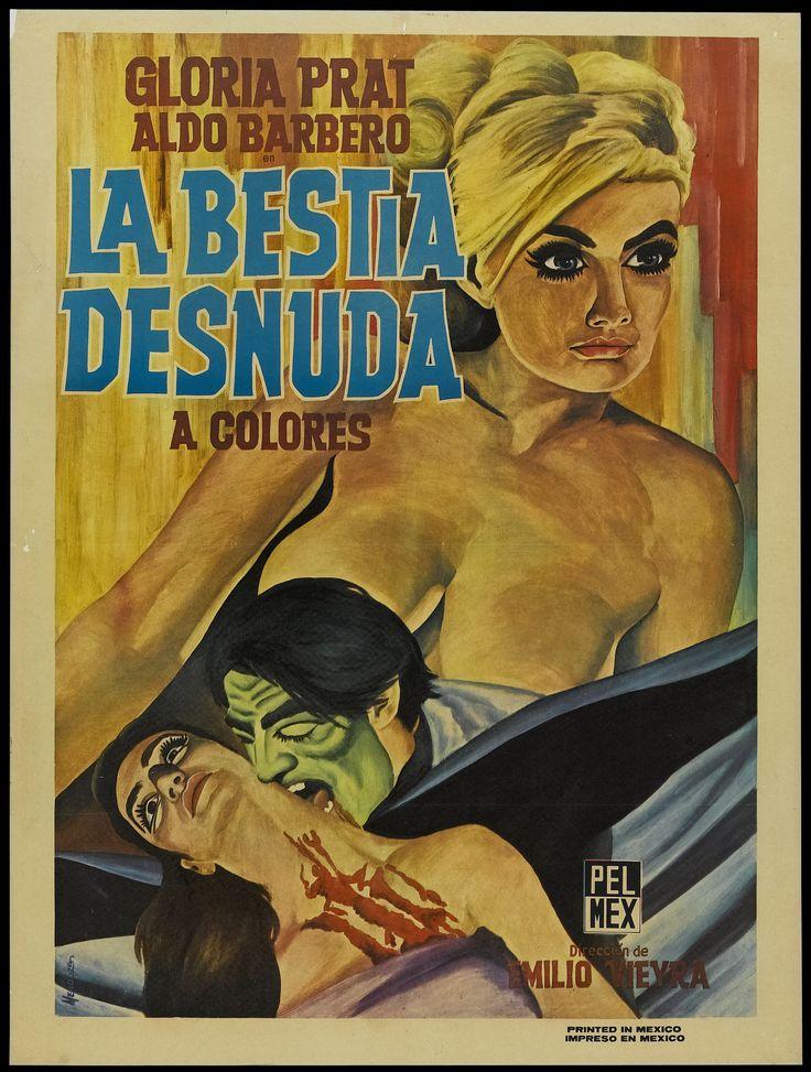 1971 - LA BESTIA DESNUDA - Emilio Vieyra - (México)