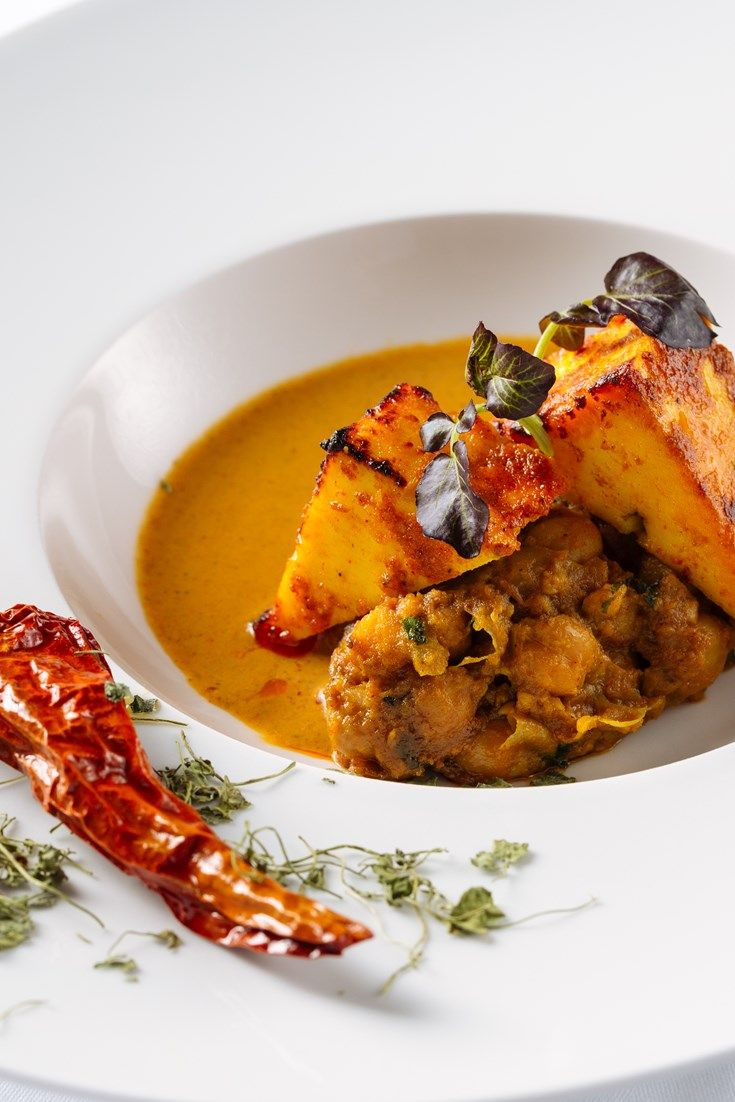 This stunning paneer rogan josh recipe from legendary Michelin-starred chef Atul Kochhar is a sight to behold.