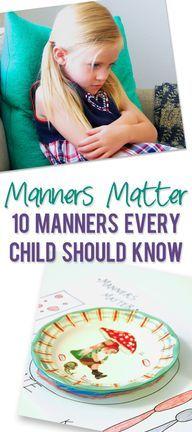 Manners Matter- 10 M