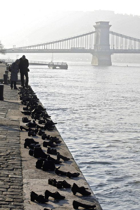 Shoes on the Danube Bank, Budapest | Holocaust Memorials Around The World -