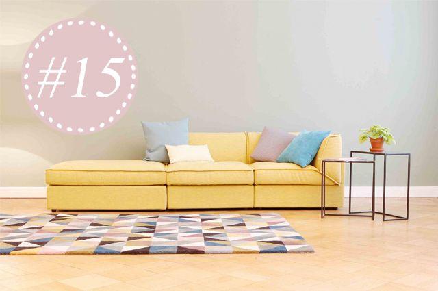 Modulares Sofa Fila von Sitzfeldt, Designer Sebastian Herkner, Möbel günstig online bestellen und selbst konfigurieren