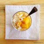 mango and coconut porridge