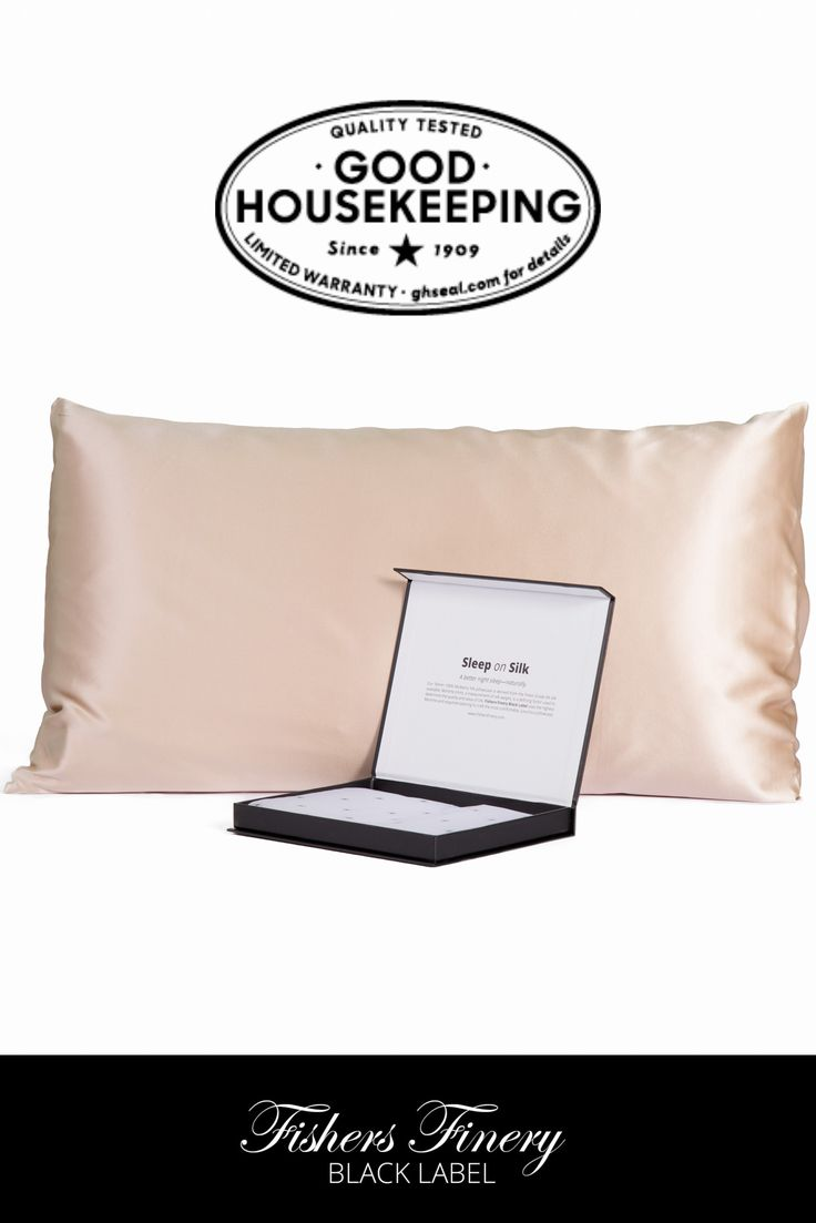 Tranquil Dreams 30 Momme 100% Pure Mulberry Silk Pillowcase, Our Most Luxurious Black Label Collection