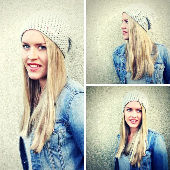 Anleitung Easy Peasy Häkelbeanie Knitting Pinterest Knitting