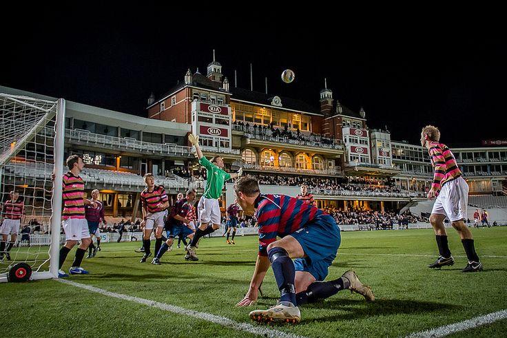 Wanderers vs. Engineers. England. photo by Stuart Tree