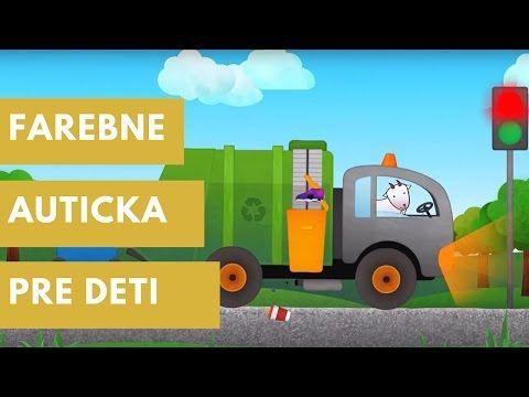 Farebne Auticka Pre Deti: Naucna Hra Dopravne Prostriedky - VROOM! - YouTube