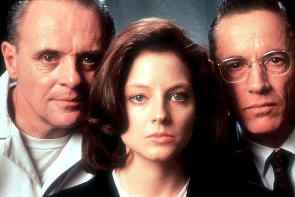 アンソニー・ホプキンスさん『ハンニバル・レクター』とジョディ・フォスターさん『クラリス・スターリング』とスコット・グレンさん『クロフォード主任捜査官』(羊たちの沈黙)