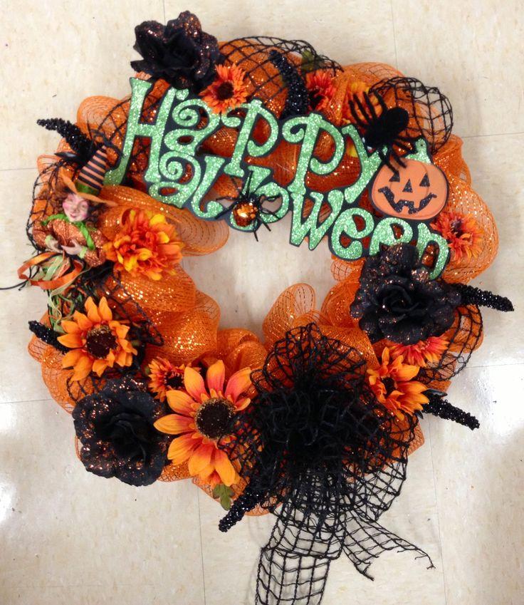 Talented Michael's Designers Halloween Orange & Black