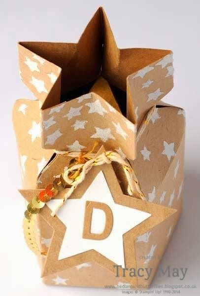 stampin up uk independent demonstrator Tracy May Stars Mask Gift ideas Pinkies Blog Hop...wow!