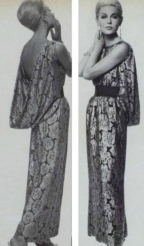 Abito da sera di Christian Dior 1962