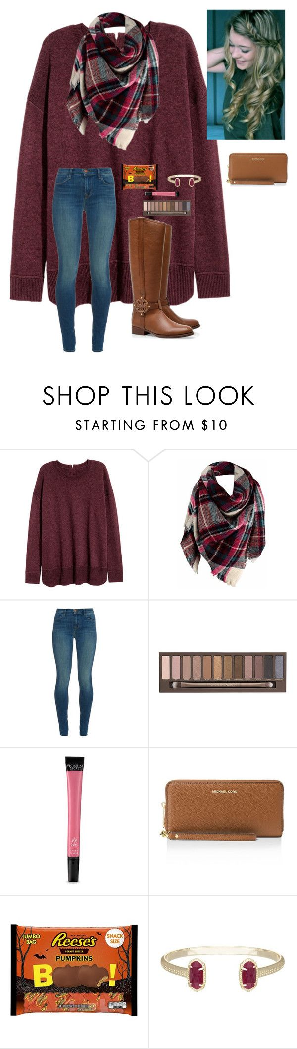 """Rtd"" by a-devo ❤ liked on Polyvore featuring J Brand, Tory Burch, Urban Decay, Victoria's Secret, MICHAEL Michael Kors, Kendra Scott and adevodisneytrip"