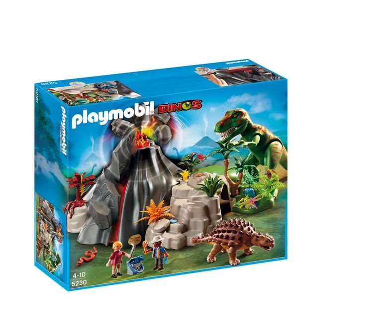 LOWEST EVER AMAZON PRICE Playmobil Dinos 5230 Volcano with T-Rex NOW £29.99 at Amazon