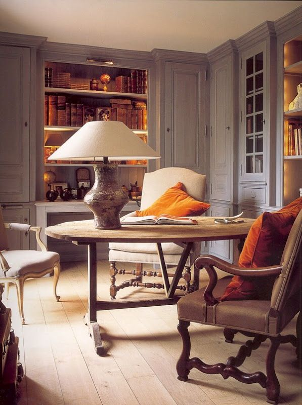 Libraries, Decor Ideas, Cabinets Colors, Offices, Interiors, Living Room, Grey Wall, Belgian Pearls, Colors Palettes