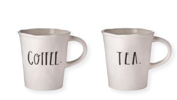 Rae Dunn Clay - Stem Lettering Mugs