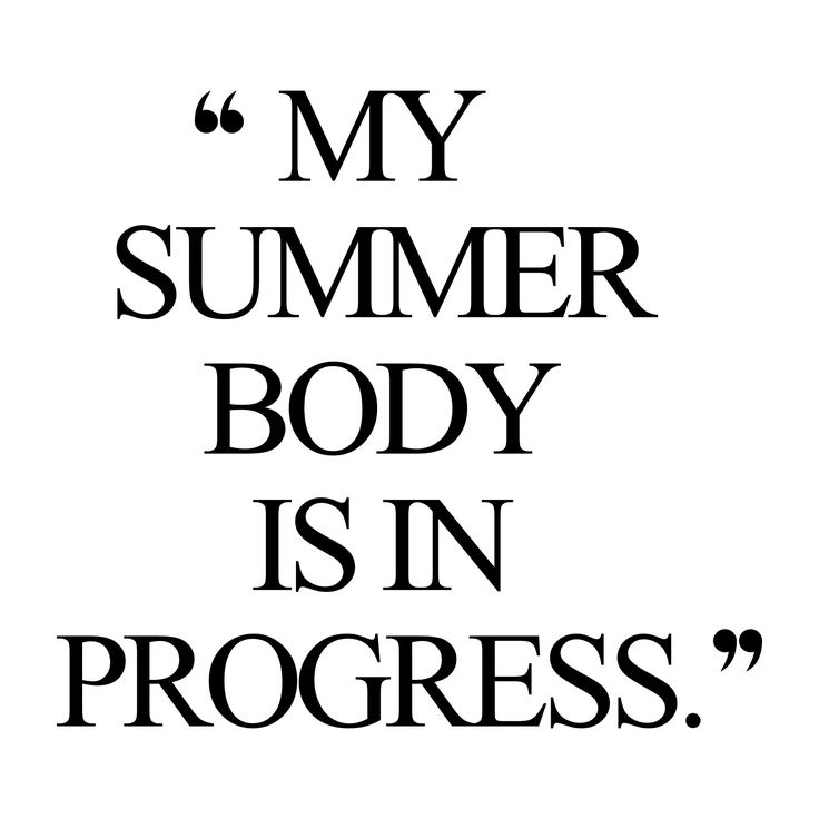 Summer body! Browse our collection of motivational fitness quotes and get instant training and weight loss inspiration. Stay focused and get fit, healthy and happy! http://www.spotebi.com/workout-motivation/weight-loss-inspiration-summer-body/
