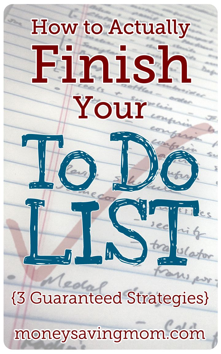 Do you struggle to finish your to-do list? Do you feel like you always have way more to do than you have time to accomplish? This post will give you three strategies you can implement today to start getting more done!