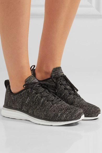 Athletic Propulsion Labs - Techloom Pro Metallic Mesh Sneakers - Black - US