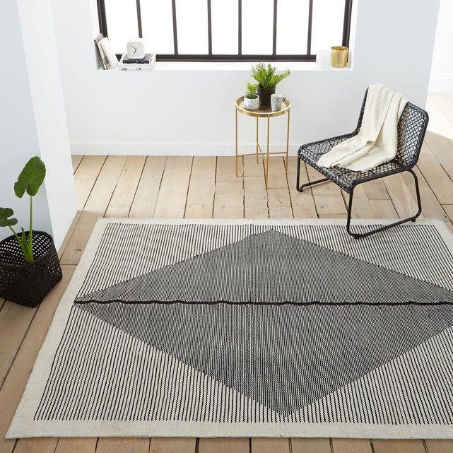 Tapis Tissé Plat Façon Kilim Indoor/outdoor Loscan – Taille : 160×230 cm;120×170 cm;200×290 cm