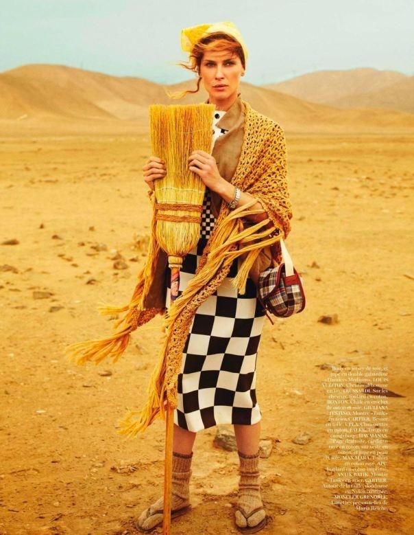 MARIA REICHE Erin Wasson by Mario Testino for Vogue Paris April 2013 5