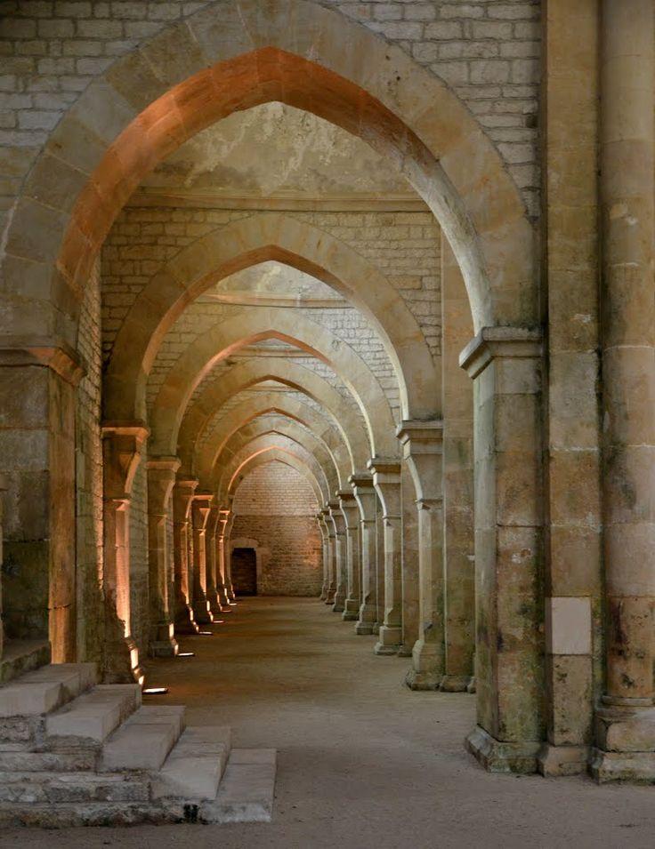 Abbaye de Fontenay. Montbard. Bourgogne