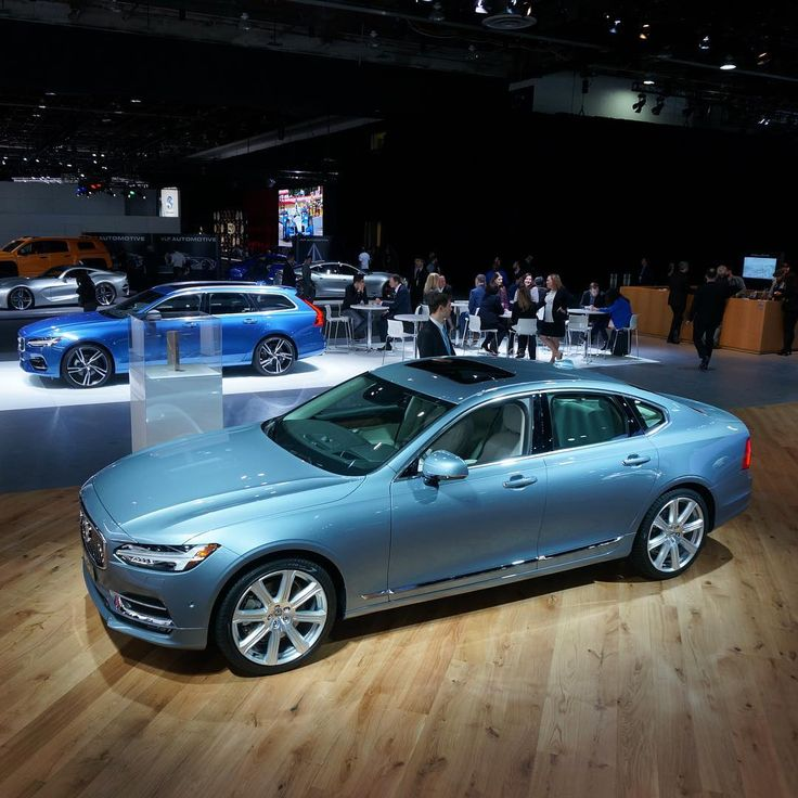 """3,202 Likes, 29 Comments - Volvo Car USA (@volvocarusa) on Instagram: """"The #VolvoS90 is at home in the spotlight at #NAIAS"""""""