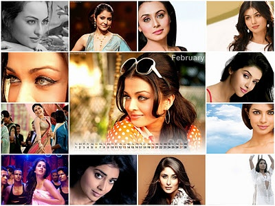 Official websites of Bollywood Actresses