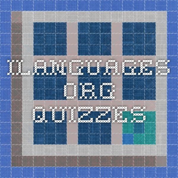 ilanguages.org quizzes