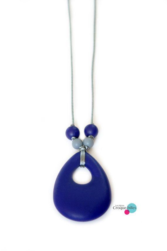 Collier de dentition en silicone / Collier de par CroqueBilles