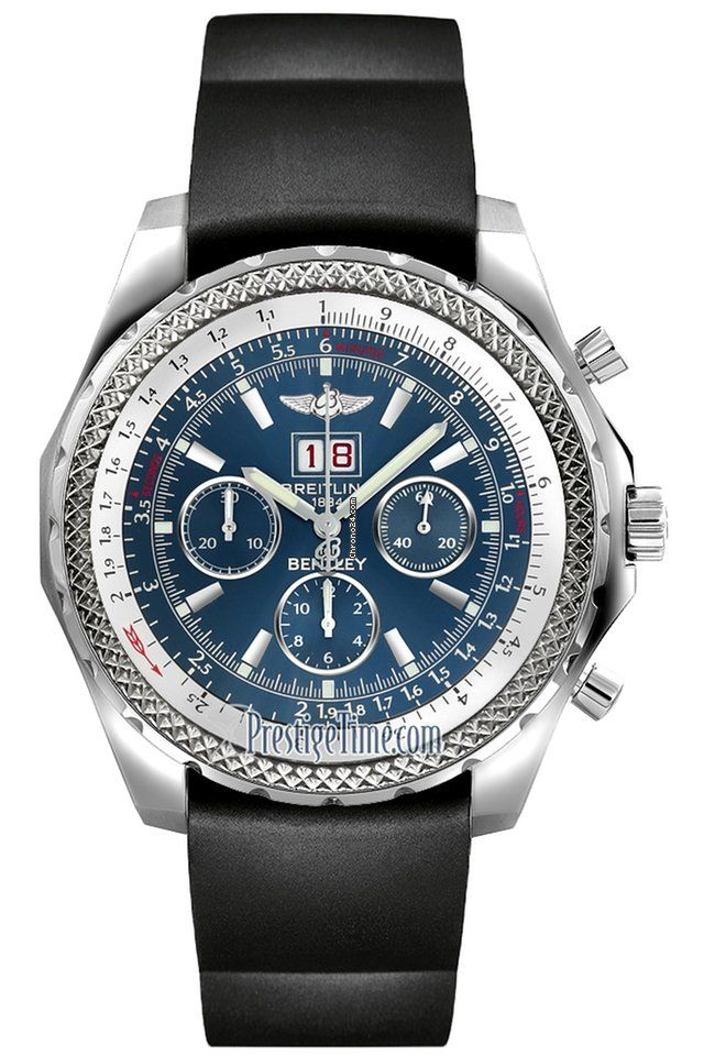 Breitling Bentley 6.75 Speed Chronograph $7,160 #Breitling #Bentley #watch #watches #chronograph steel case automatic movement
