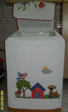 Capa para máquina de lavar roupas