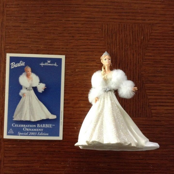 Hallmark Keepsake Christmas Ornament Celebration Barbie 2003 Special Edition