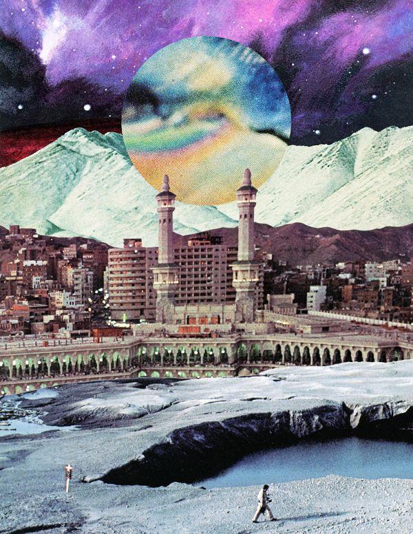 Mesmerizing Collages by Jake Lee – Fubiz Media