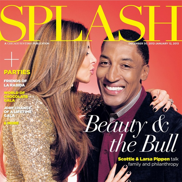 Scottie Pippen and Larsa Pippen - Family and Philanthropy.
