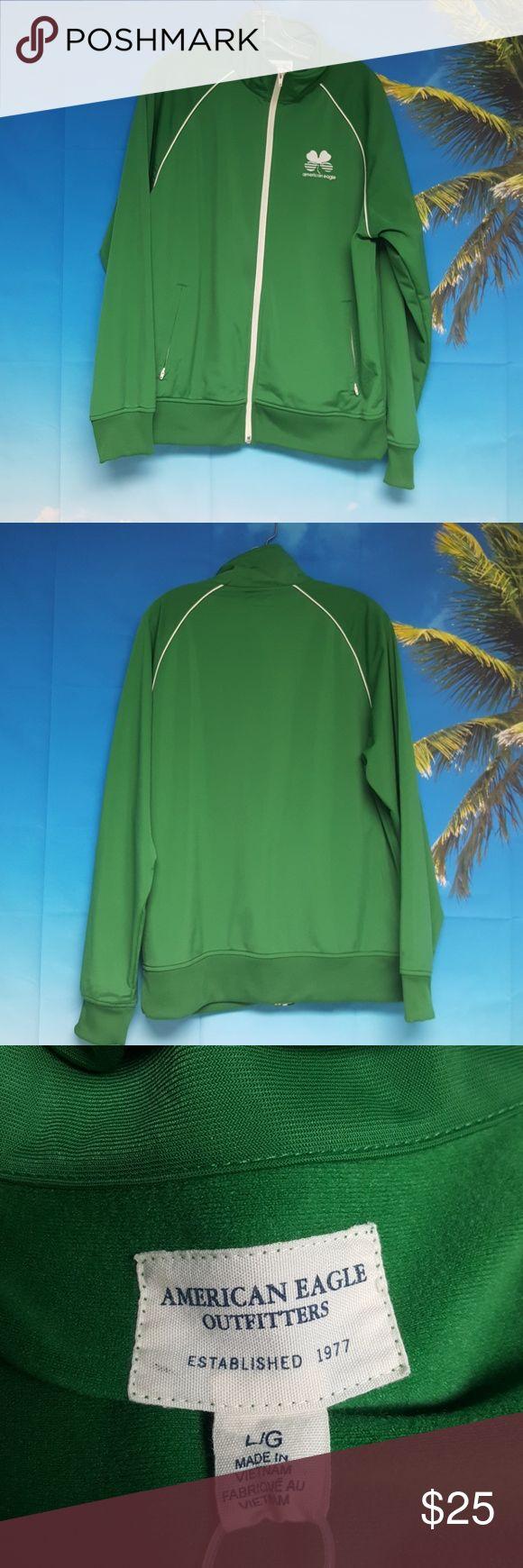 AMERICAN EAGLE JACKET Zippered jacket 2 zippered pockets American Eagle Outfitters Jackets & Coats