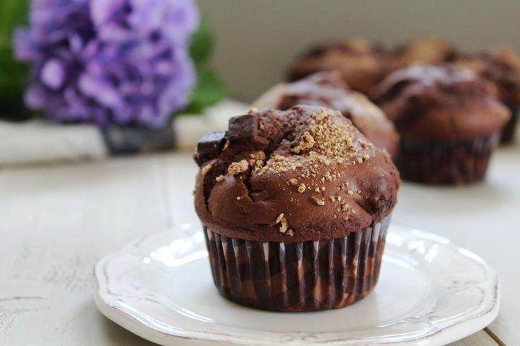 """""""I love muffin"""" e come ho già scritto più volte adoro farli, mangiarli e guardarli! Questo dolce se ci fosse il premio simpatia in cucina gli attribuirei senza dubbio il primo posto. To…"""