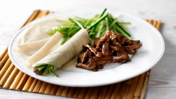 Duck pancakes with hoisin sauce |      Recreate the classic Chinese restaurant dish with our easy recipe.