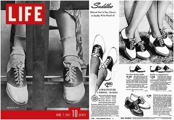 Saddle Shoes - Viacomit