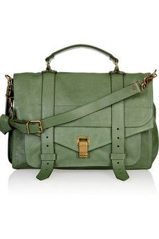 Yummy proenza schouler. Someday, I will have thee. Once I get the funds, the second challenge will be picking a color.