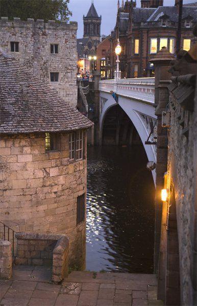 Lendal Bridge in York, England