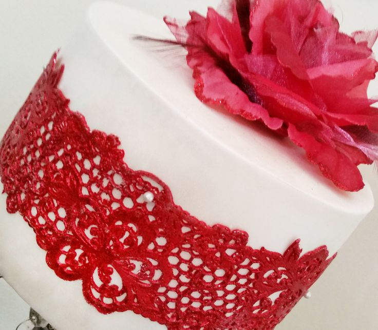 New STARTER Collection: Amaya Lace Mat - SC 001. http://www.crystalcandyonline.com
