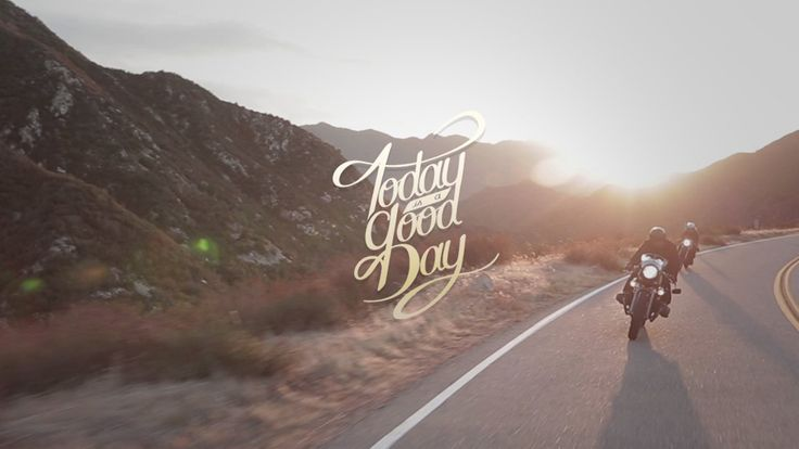 """Love this teaser for an upcoming documentary on the cafe racer lifestyle, """"Today Is A Good Day"""". There are some big names involved too, like custom motorcycle builders Roland Sands and Shinya Kimura, plus BMW design chief Ola Stenegard."""
