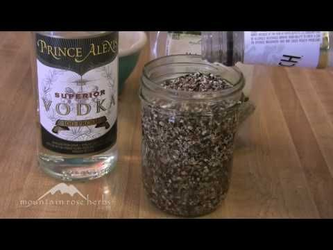 Video ~ How to Make Herbal Tinctures