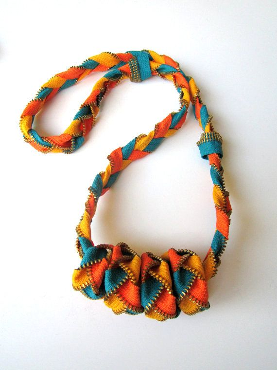 FIESTA MEXICANA - Zipper Necklace
